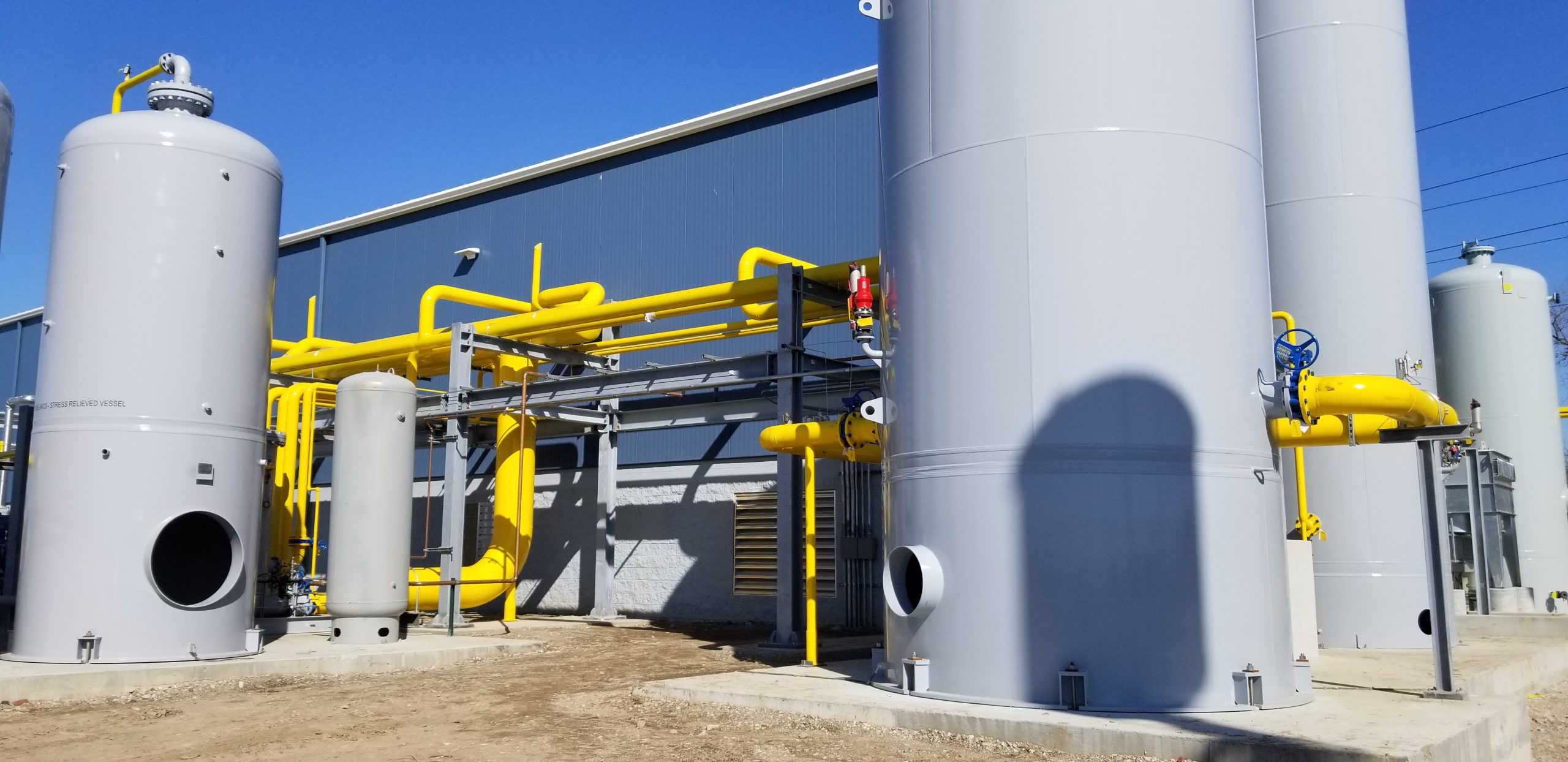 Product and waste tanks